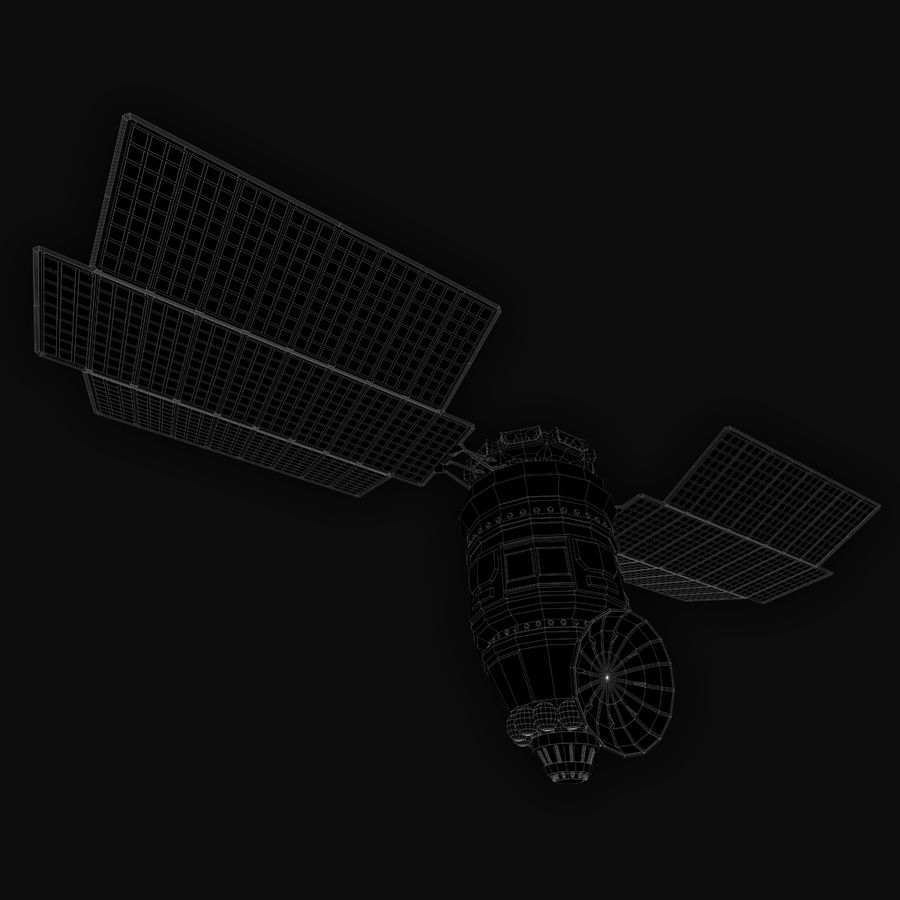 Satélite royalty-free modelo 3d - Preview no. 6