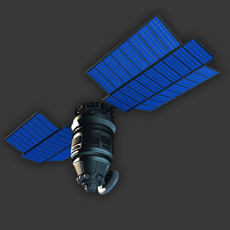 Satélite royalty-free modelo 3d - Preview no. 4