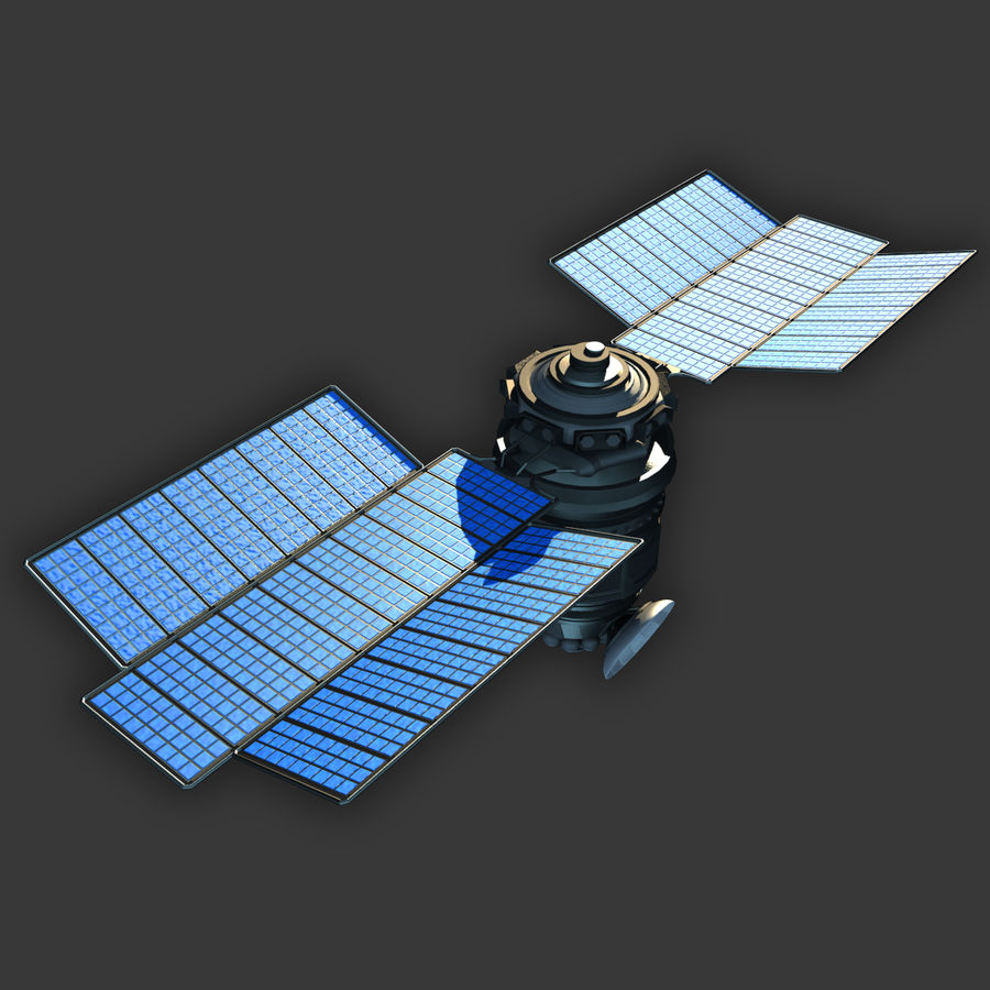 Satélite royalty-free modelo 3d - Preview no. 2