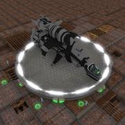 정찰 스타 3d model