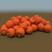 Citrouilles 3d model
