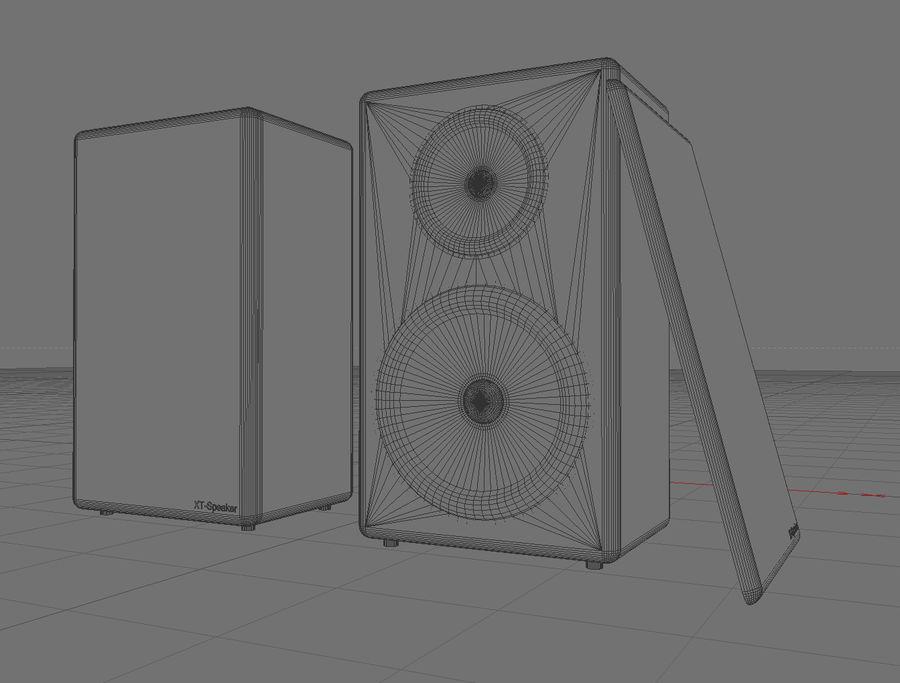 연사 royalty-free 3d model - Preview no. 3