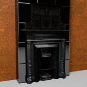 Edwardian FirePLace 3d model