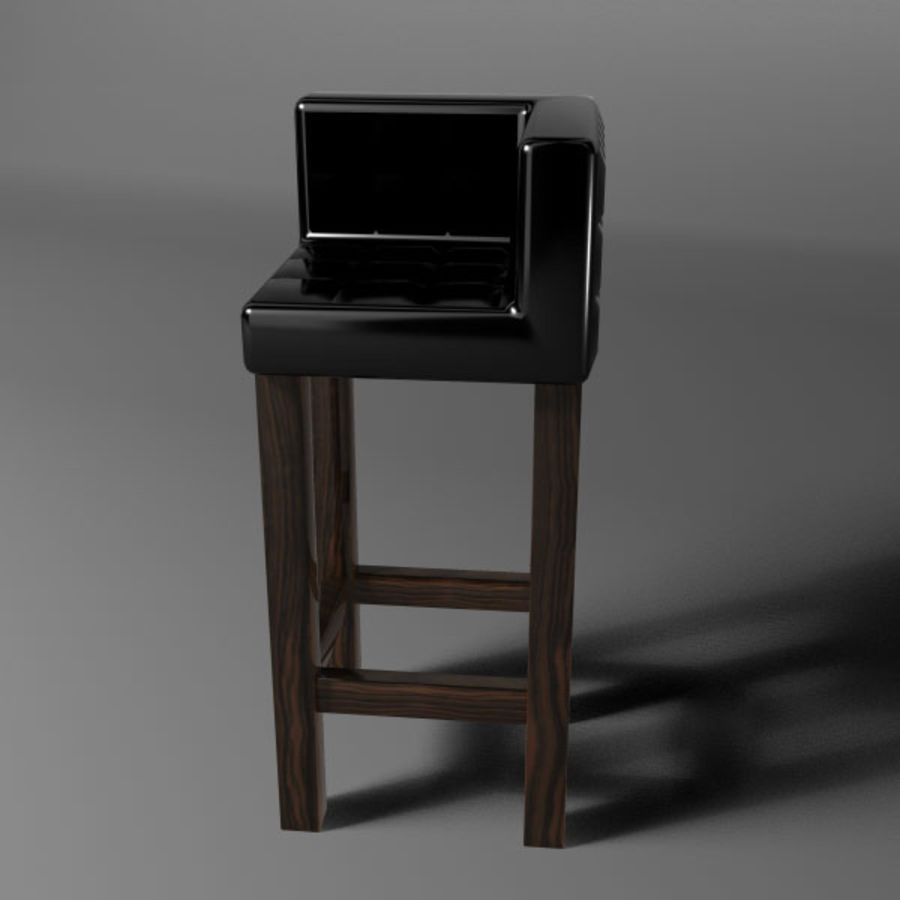 Barstolar royalty-free 3d model - Preview no. 2