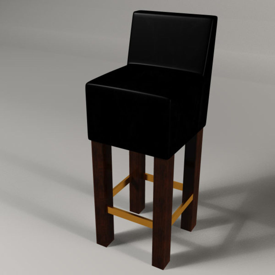 Barstolar royalty-free 3d model - Preview no. 8