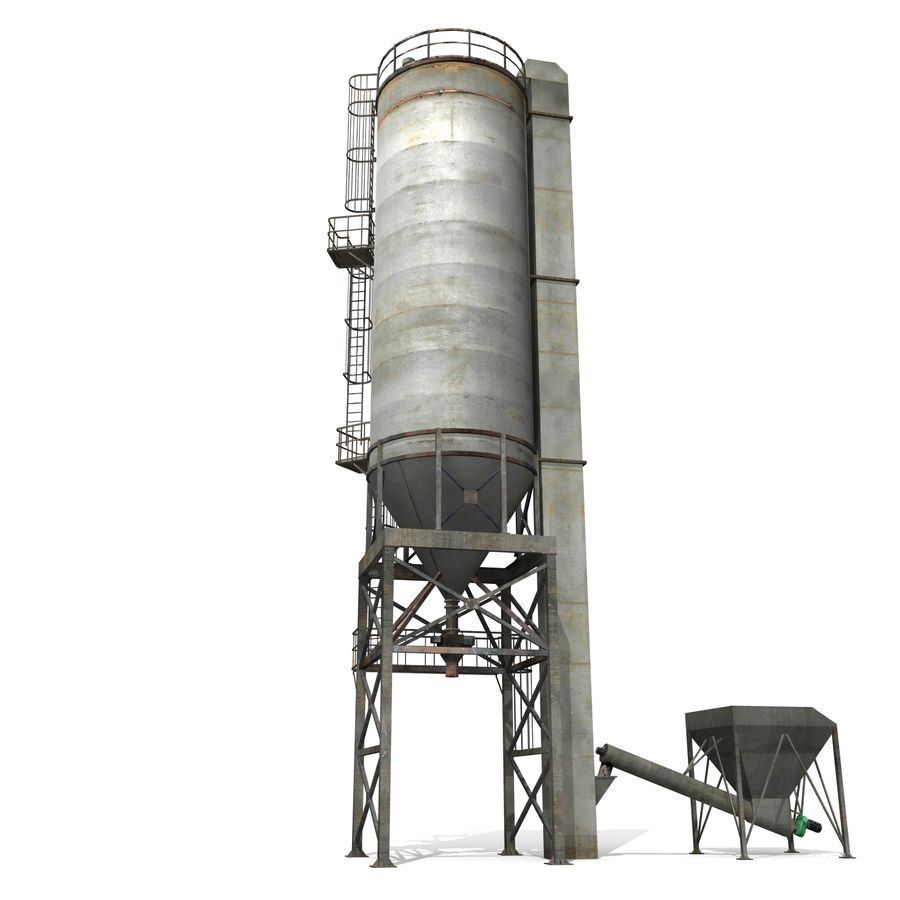 Silo A royalty-free 3d model - Preview no. 6