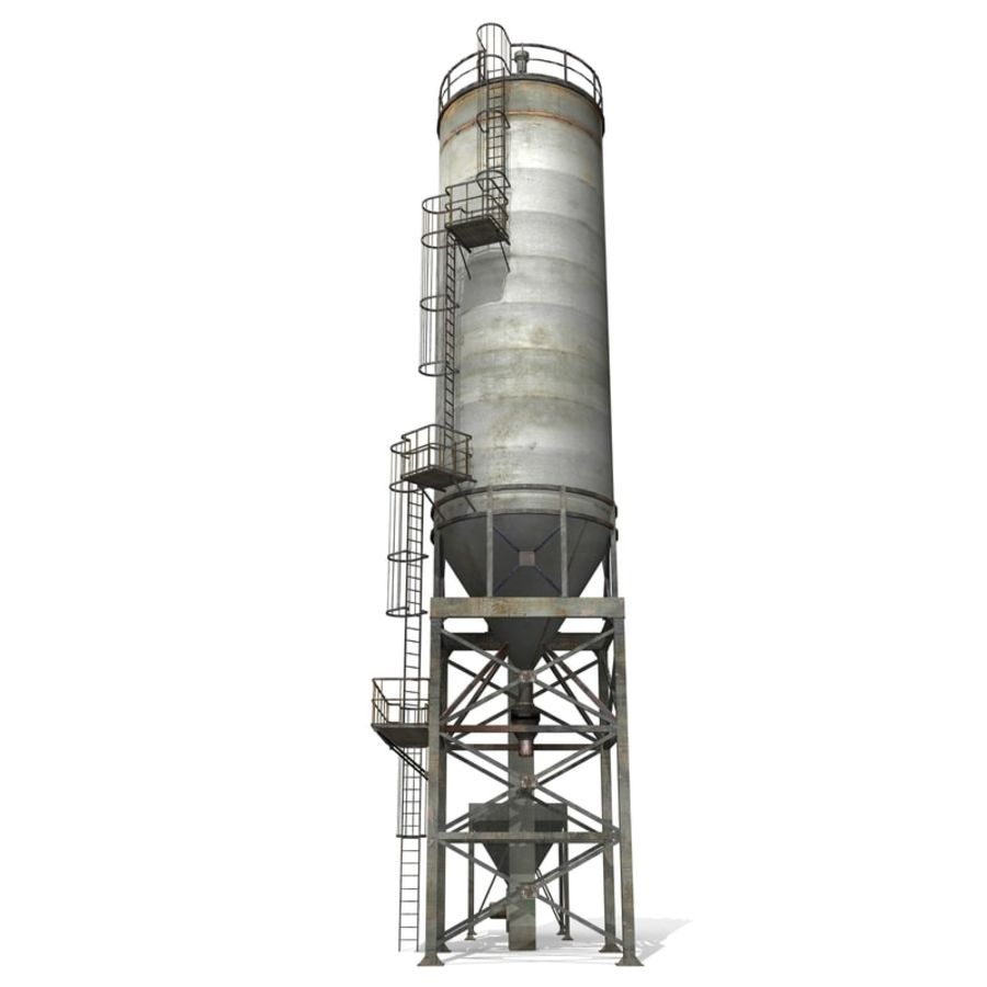 Silo A royalty-free 3d model - Preview no. 5