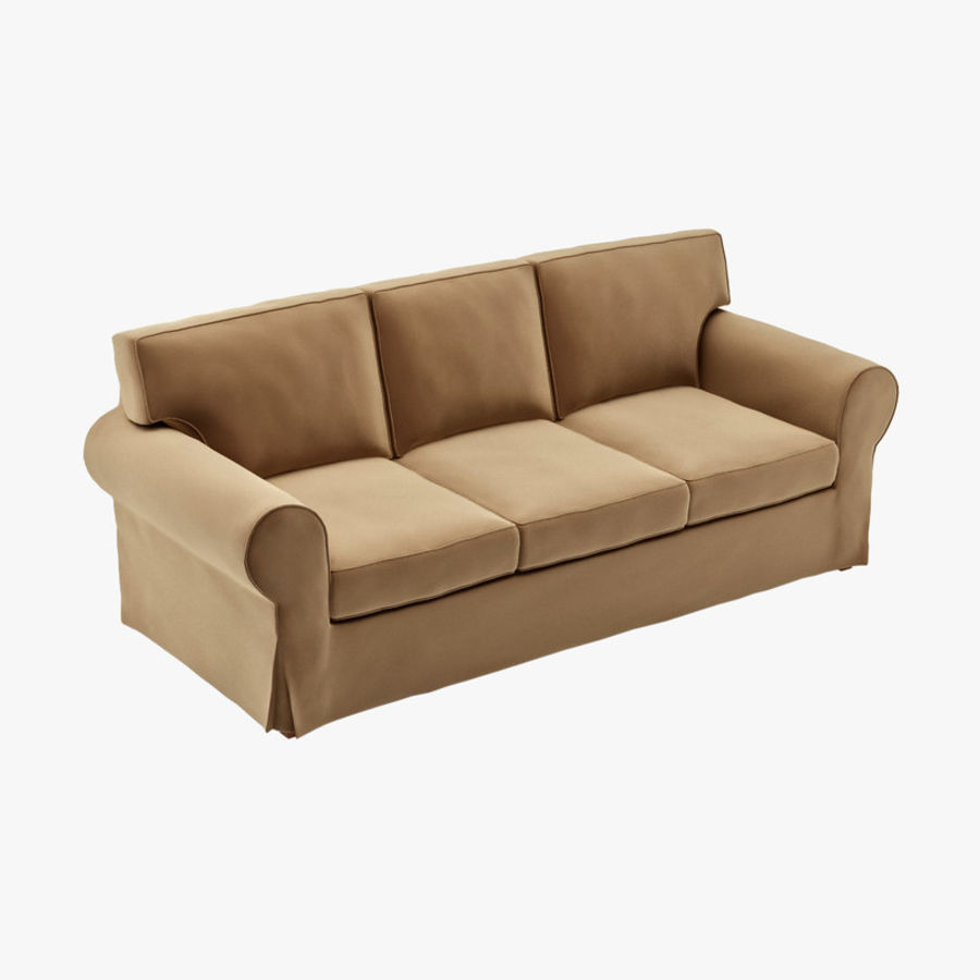 Ikea ektorp three seat sofa 3d model 15 max free3d for Sofa 3d model