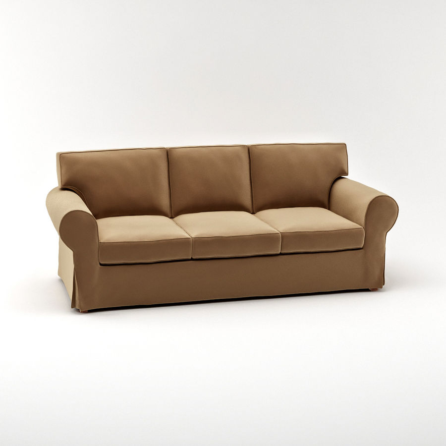 Ikea ektorp three seat sofa 3d model 15 max free3d for Ikea visualisation 3d