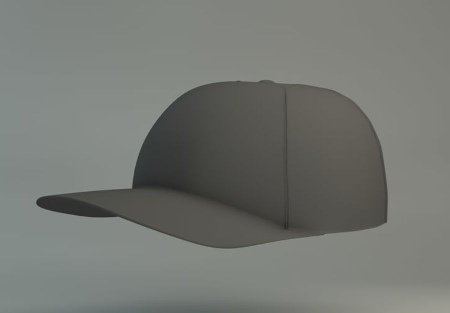 Boné de baseball royalty-free 3d model - Preview no. 1