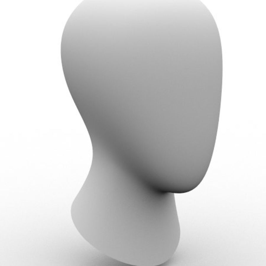頭 royalty-free 3d model - Preview no. 1
