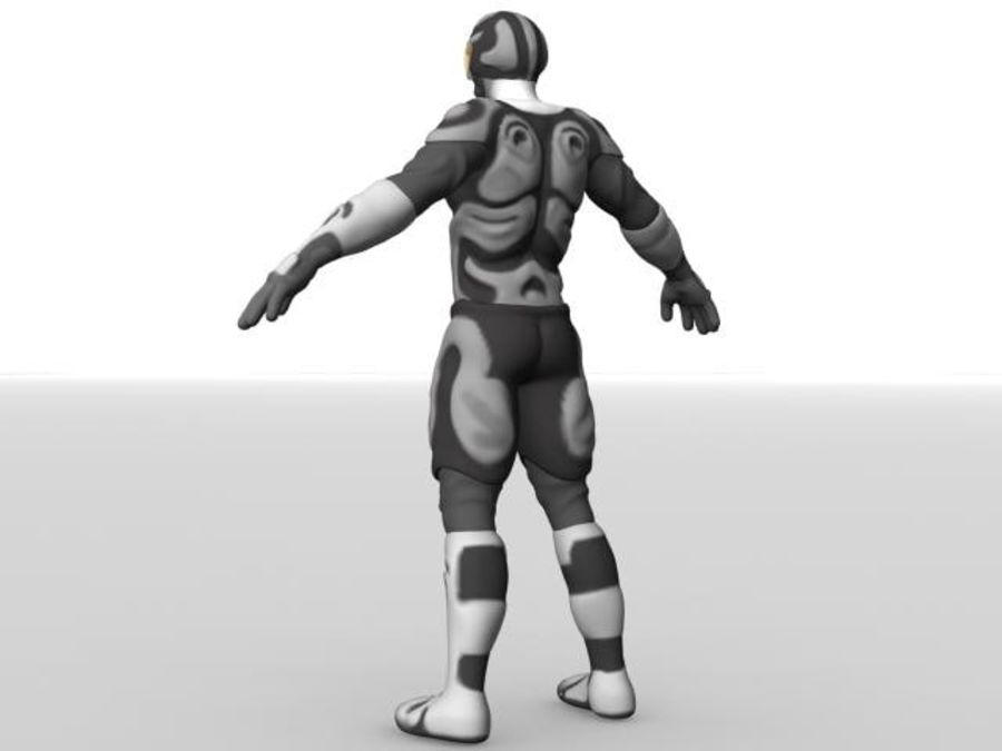 Space Ranger royalty-free 3d model - Preview no. 3