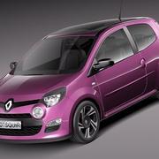 Renault Twingo 2012 3d model