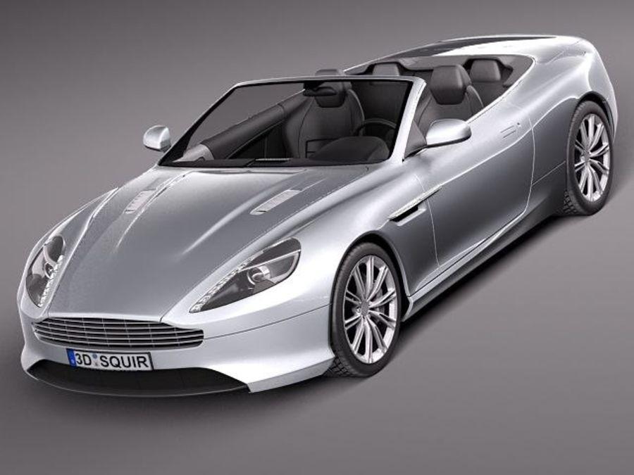 Aston Martin Virage Volante 2012 3d Model 79 Obj Max Lwo C4d Fbx 3ds Free3d