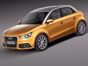 Audi A1 Sportback 2013 modelo 3d