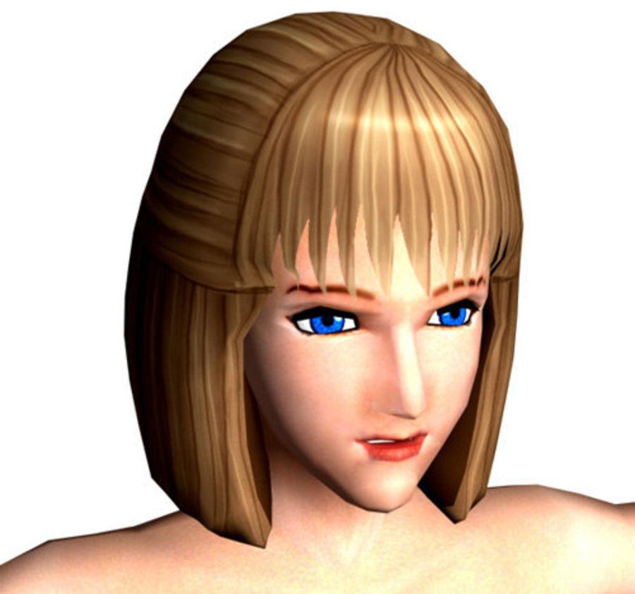 女孩 royalty-free 3d model - Preview no. 1