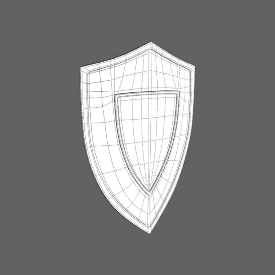 방패 royalty-free 3d model - Preview no. 3