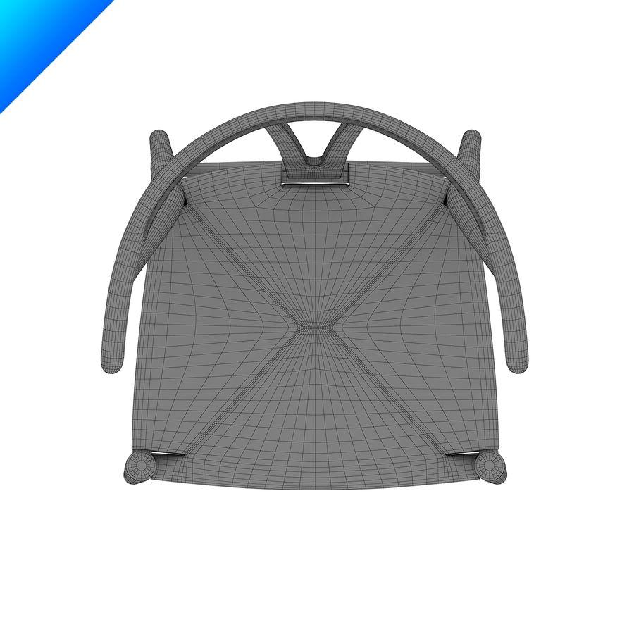 한스 웨 그너 Ch24 위시 본 의자 royalty-free 3d model - Preview no. 11
