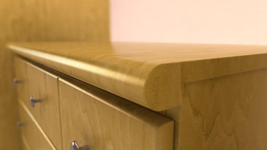 muebles de dormitorio royalty-free modelo 3d - Preview no. 2