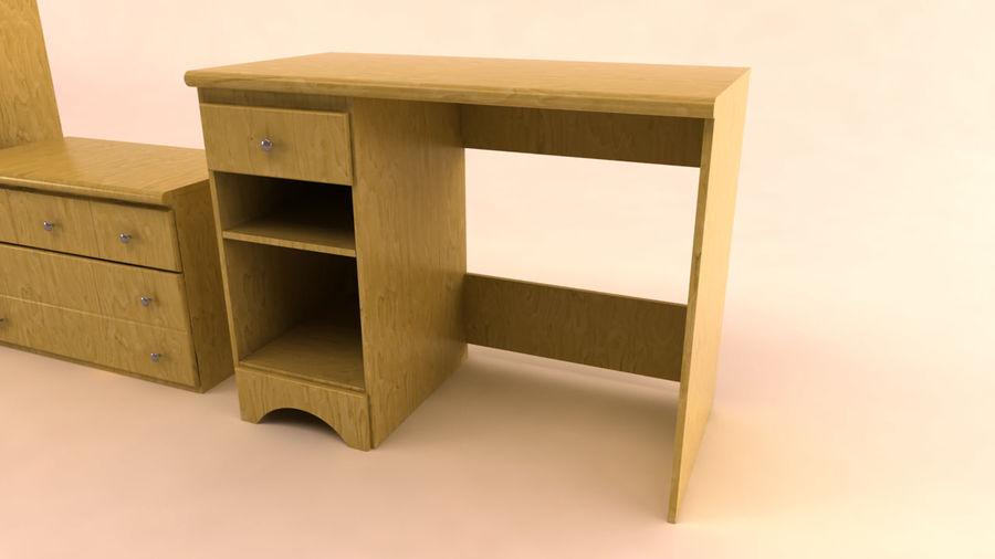 muebles de dormitorio royalty-free modelo 3d - Preview no. 4