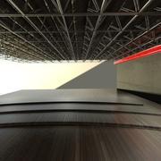 Tavan Yapısı - Borular 3d model