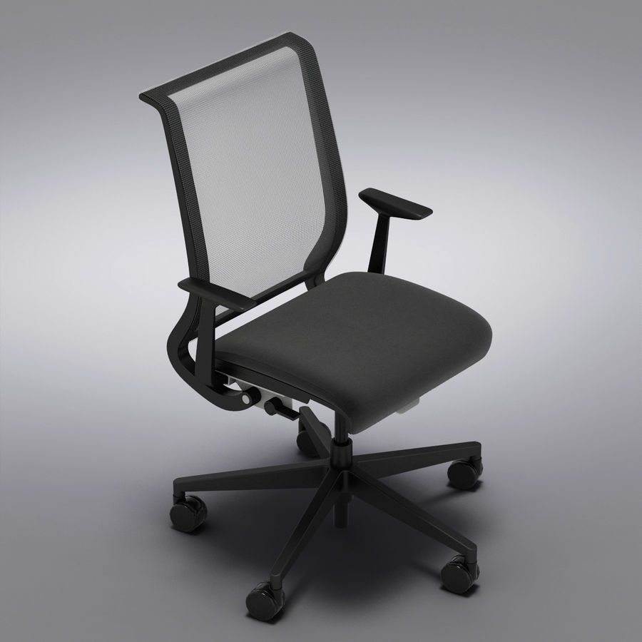 Crate And Barrel Steelcase Think Office Chair 3d Model 29 Max Obj Fbx C4d Free3d