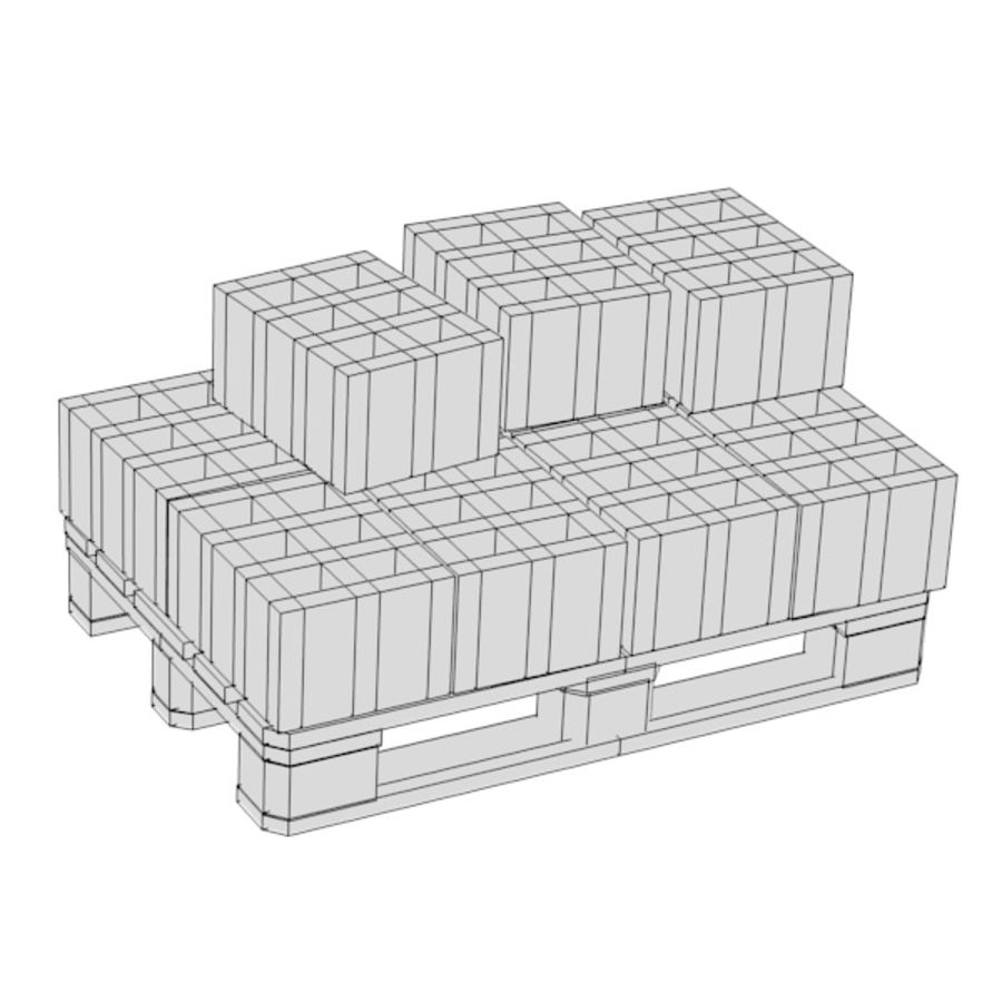 construction m3 royalty-free 3d model - Preview no. 3