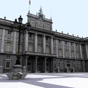 Palais royal de madrid 3d model