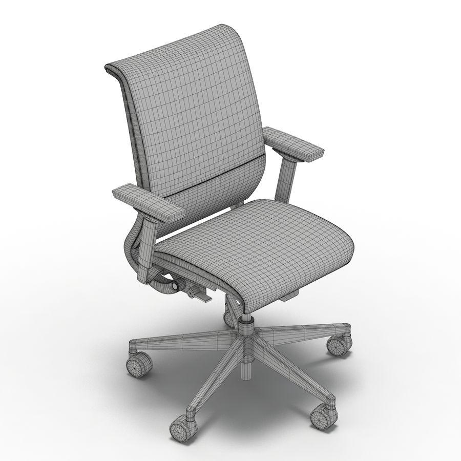 Crate And Barrel Chaise De Bureau Steelcase Think En Cuir Modele 3d 29 Max Obj Fbx C4d Free3d