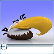 愤怒的小鸟(鹰) 3d model