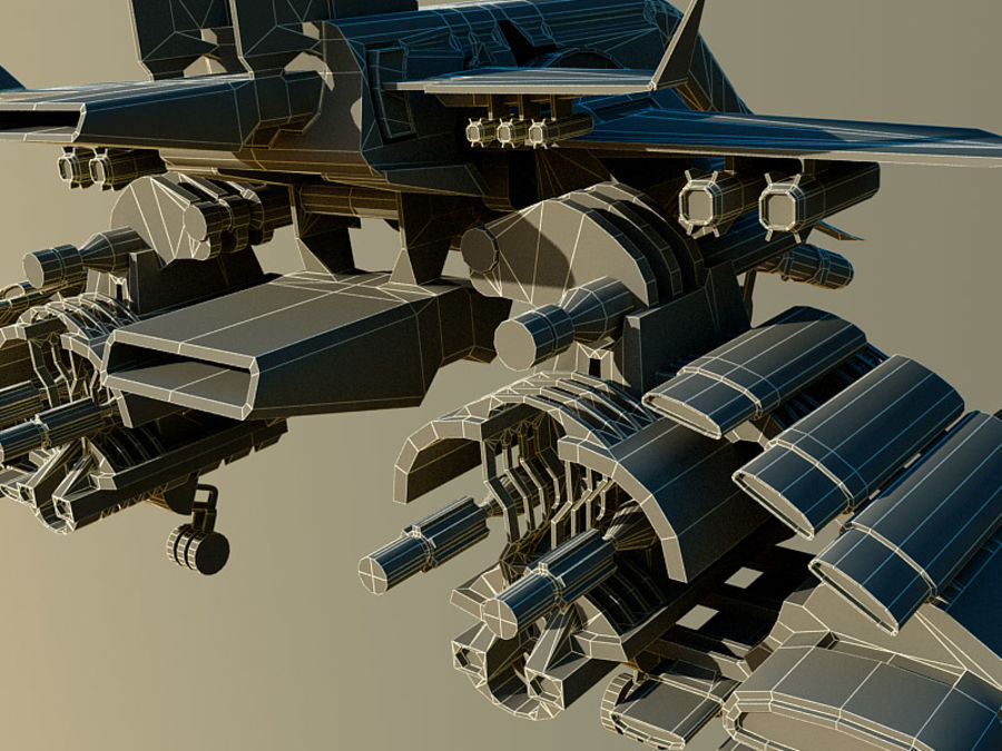 spacecraft royalty-free 3d model - Preview no. 16