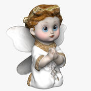 Angel Figurine 3d model