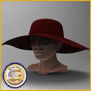 여성 1 3d model