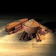 Cinnamon 3d model