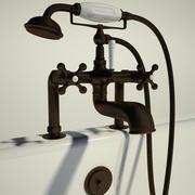 電話風呂蛇口 3d model