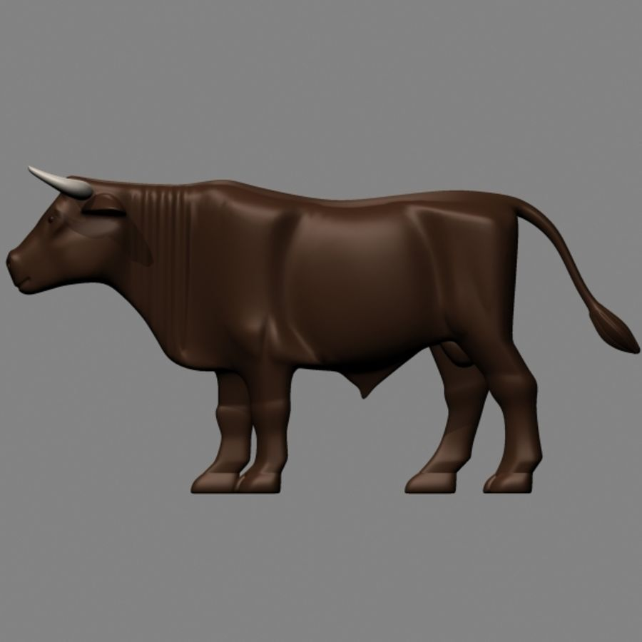 stier royalty-free 3d model - Preview no. 2