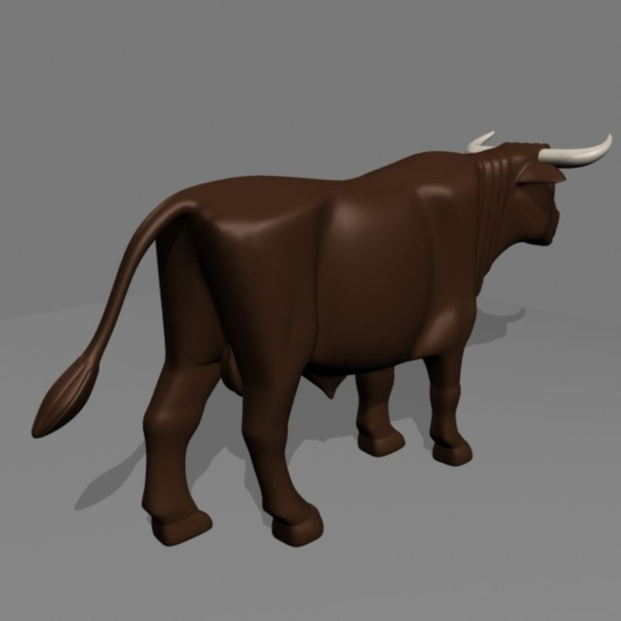 stier royalty-free 3d model - Preview no. 3