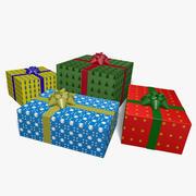 礼物 3d model