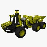 Lego Technic Dump Truck 8451 3d model