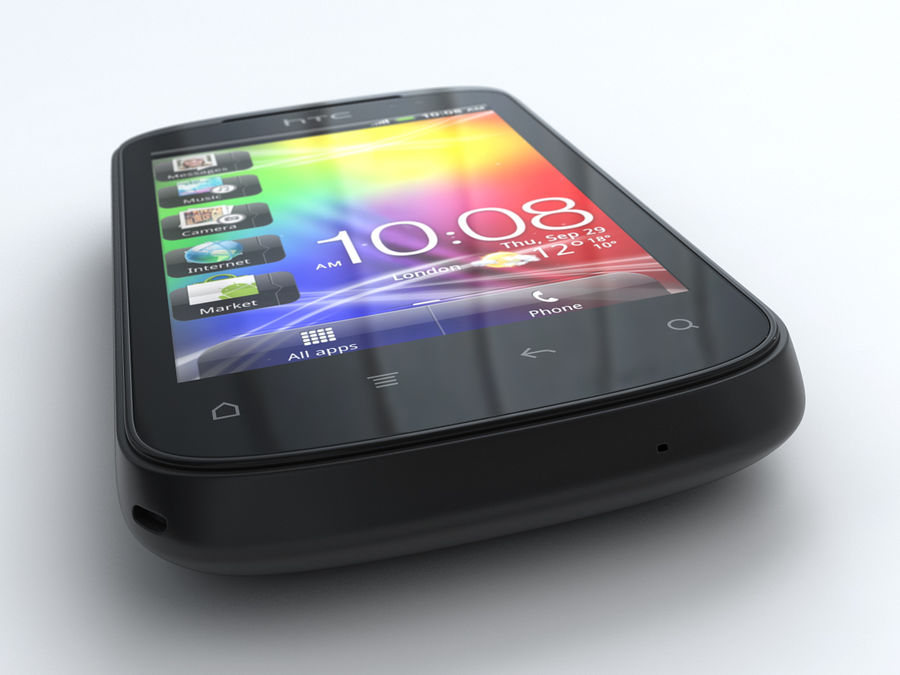 HTC Explorer royalty-free 3d model - Preview no. 6