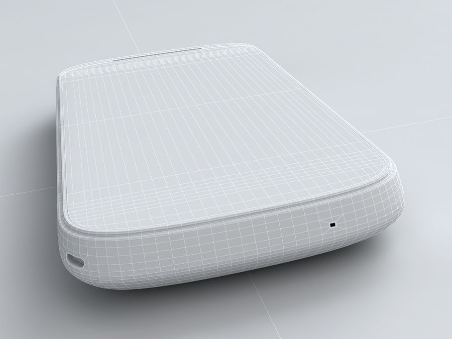 HTC Explorer royalty-free 3d model - Preview no. 26