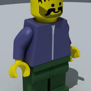 Lego figura 3d model