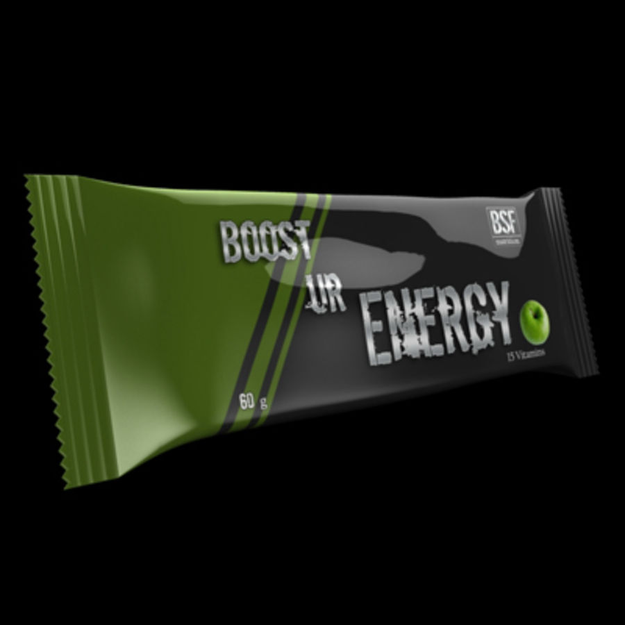 Energy bar royalty-free 3d model - Preview no. 2