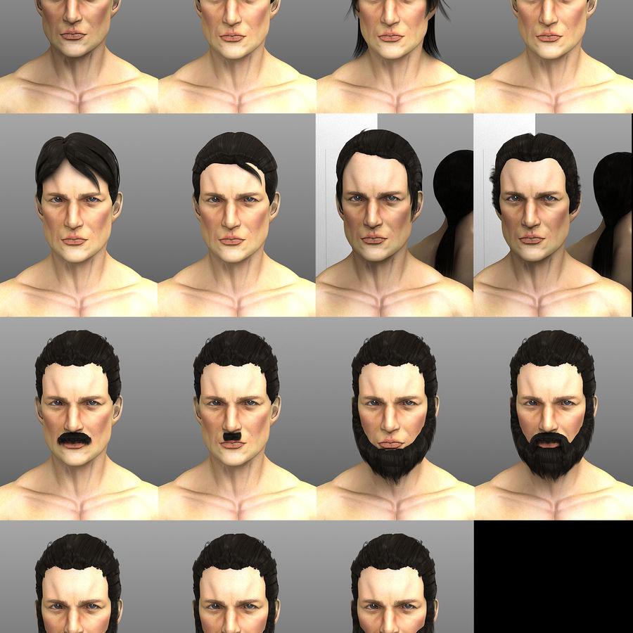 John royalty-free 3d model - Preview no. 3