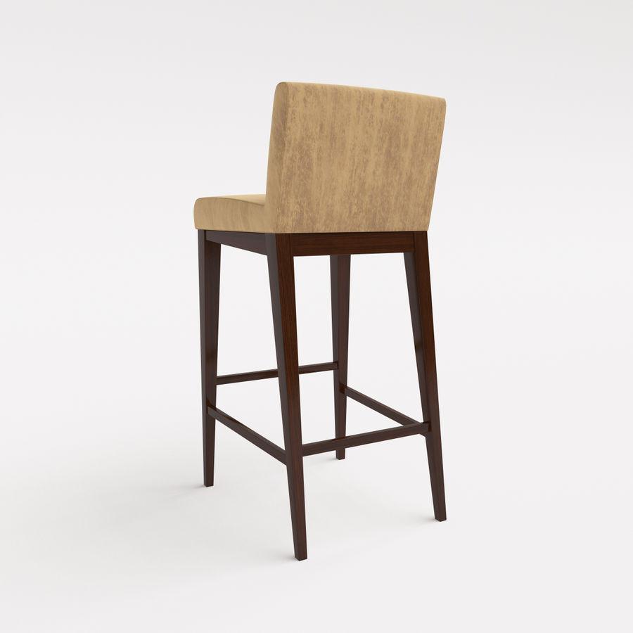 Morgan Furniture city 430 - BARSTOOL royalty-free 3d model - Preview no. 6