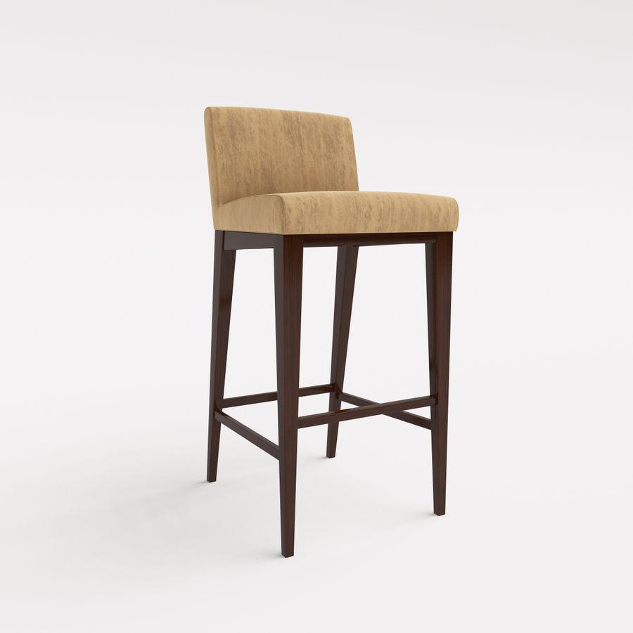 Morgan Furniture city 430 - BARSTOOL royalty-free 3d model - Preview no. 5