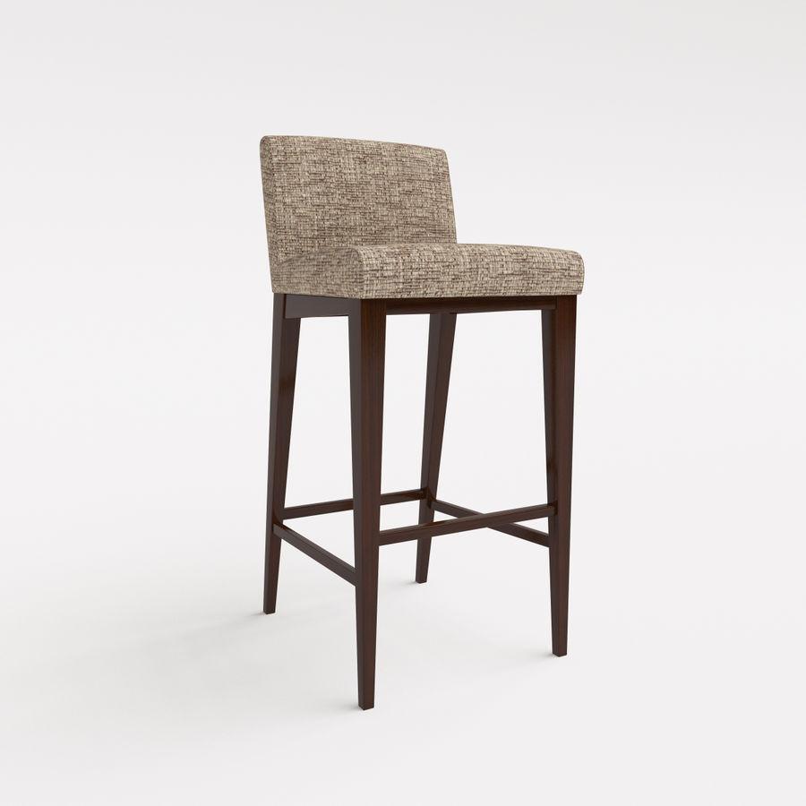 Morgan Furniture city 430 - BARSTOOL royalty-free 3d model - Preview no. 1