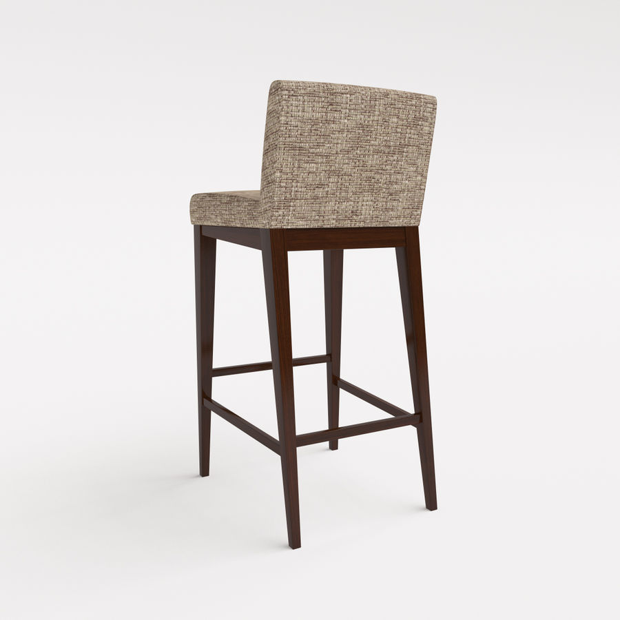 Morgan Furniture city 430 - BARSTOOL royalty-free 3d model - Preview no. 2