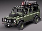 Expédition Land Rover Defender 3d model
