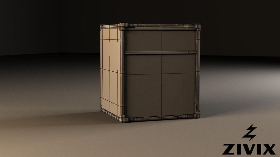Speakers & Amplifiers royalty-free 3d model - Preview no. 7